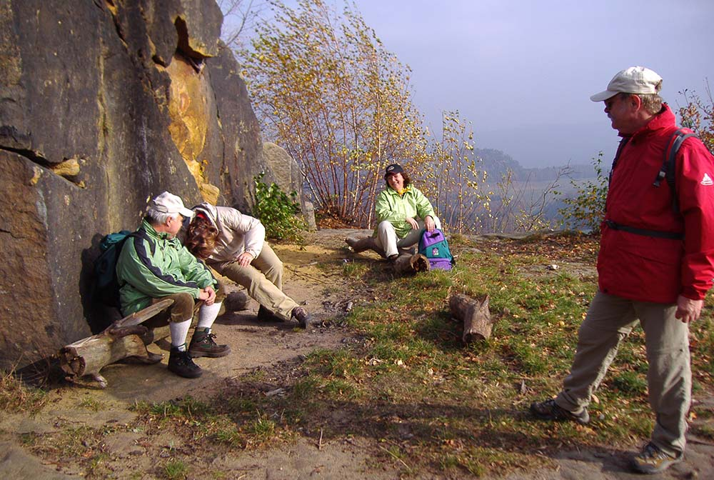 Wanderung 2005